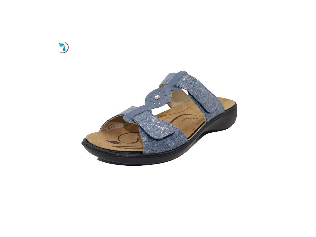 90.Volnočasové pantofle s vyjímatelnou stélkou