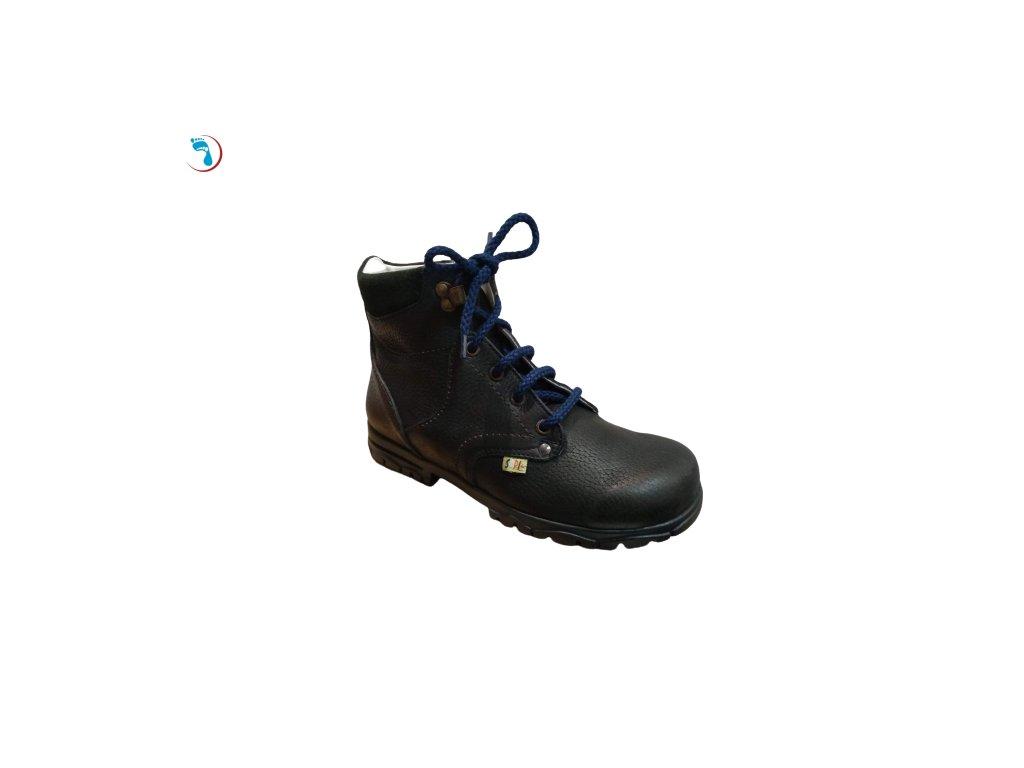 Dětská supinační obuv, vyšší patní modul