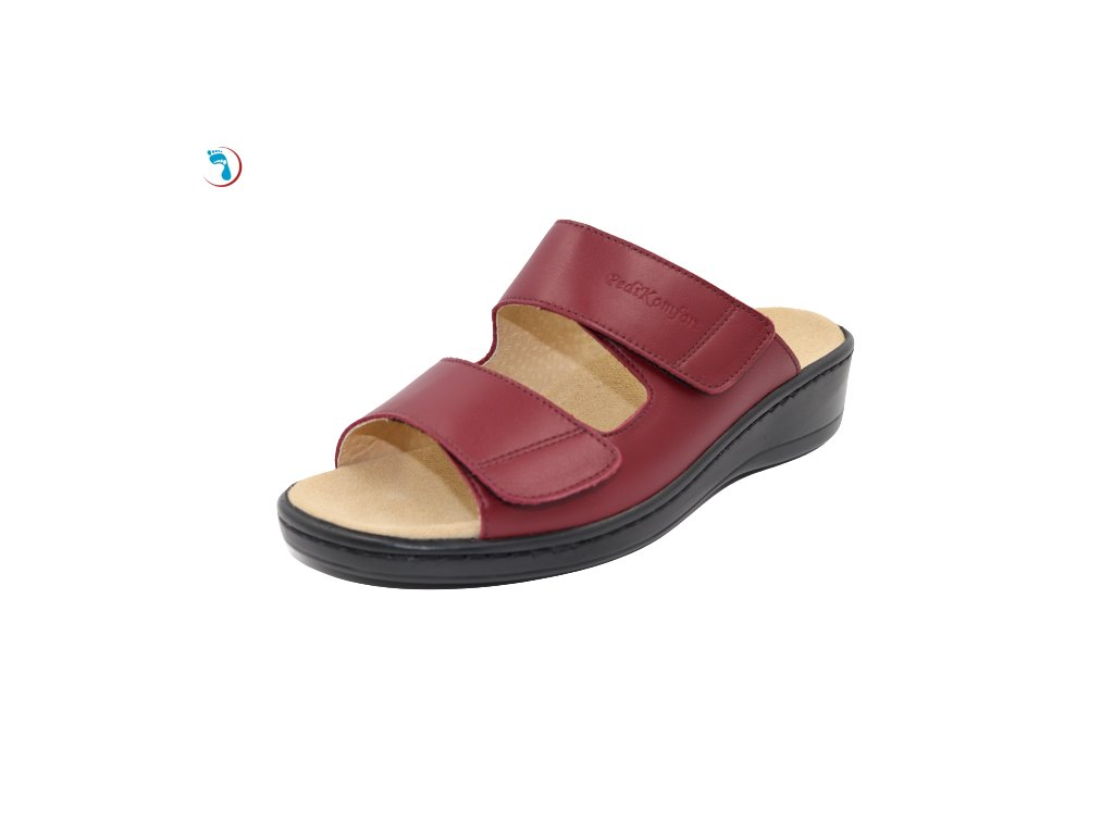 Pantofle s vyjímatelnou stélkou PEDIKOMFORT