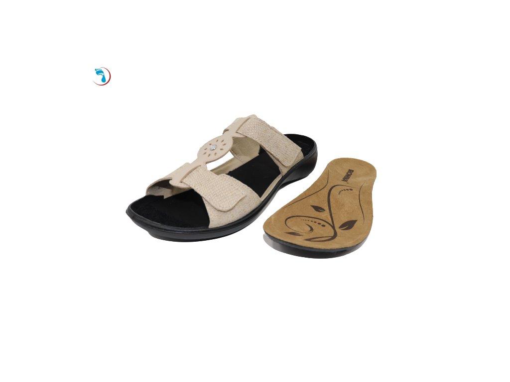 Pantofle s vyjímatelnou stélkou ROMIKA IBIZA