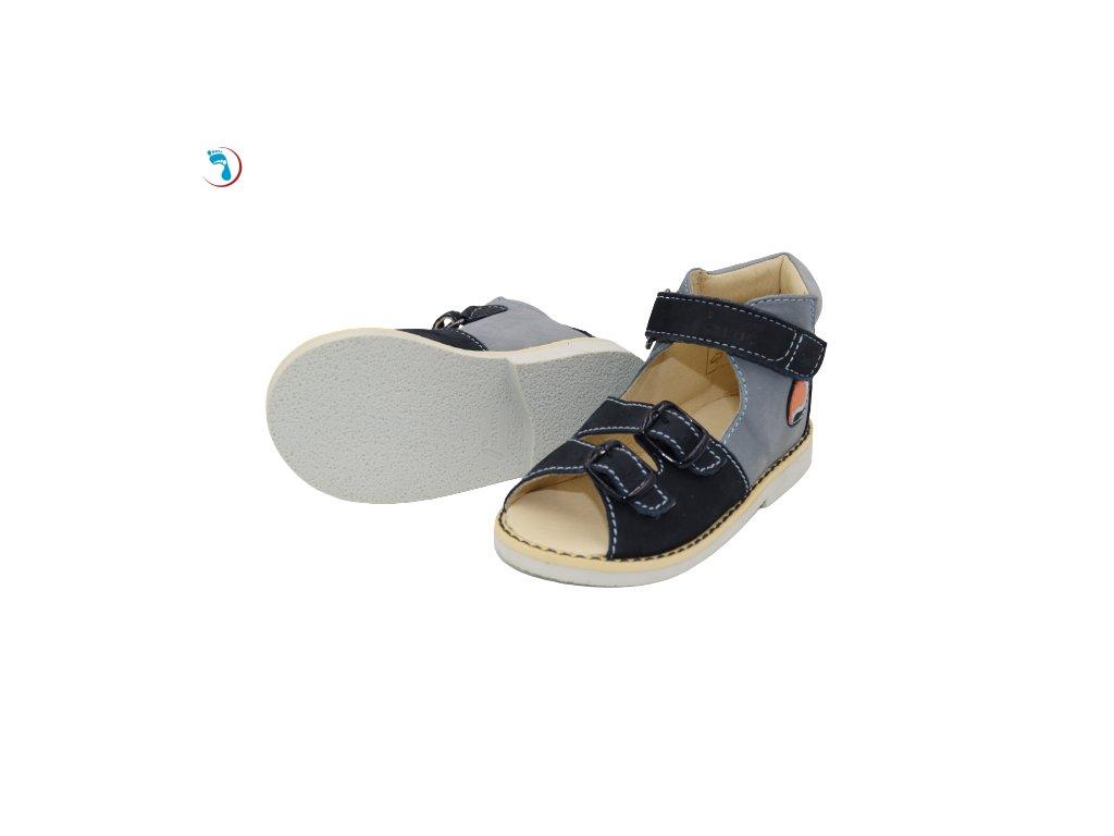 Dětské sandály supinační SALUS pro úzkou nohu