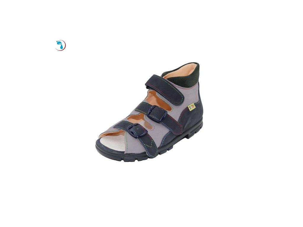Dětské sandály supinační BOKOR, vyšší nárt