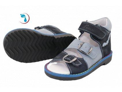 Dětské sandály supinační SALUS pro vyšší nárt