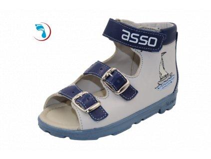 60.Asso, Dětské sandály supinační