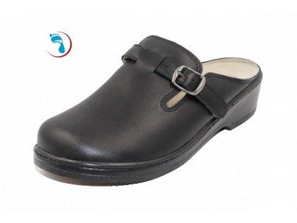 Pantofle s vyjímatelnou stélkou