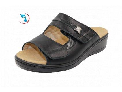 Pantofle s vyjímatelnou stélkou PEDIKOMFORT - HALLUX
