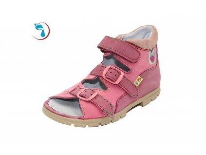 10.Supi+ Dětské sandály supinační, na vyšší nárt