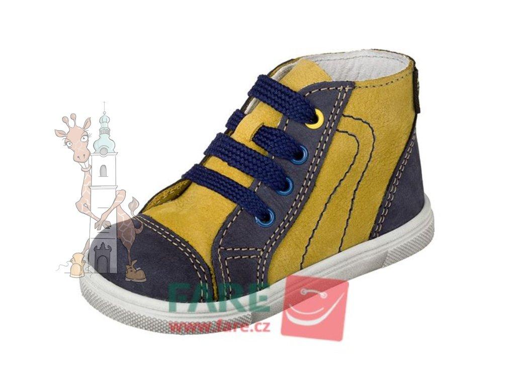 Dětské celoroční kožené boty Fare 2121203