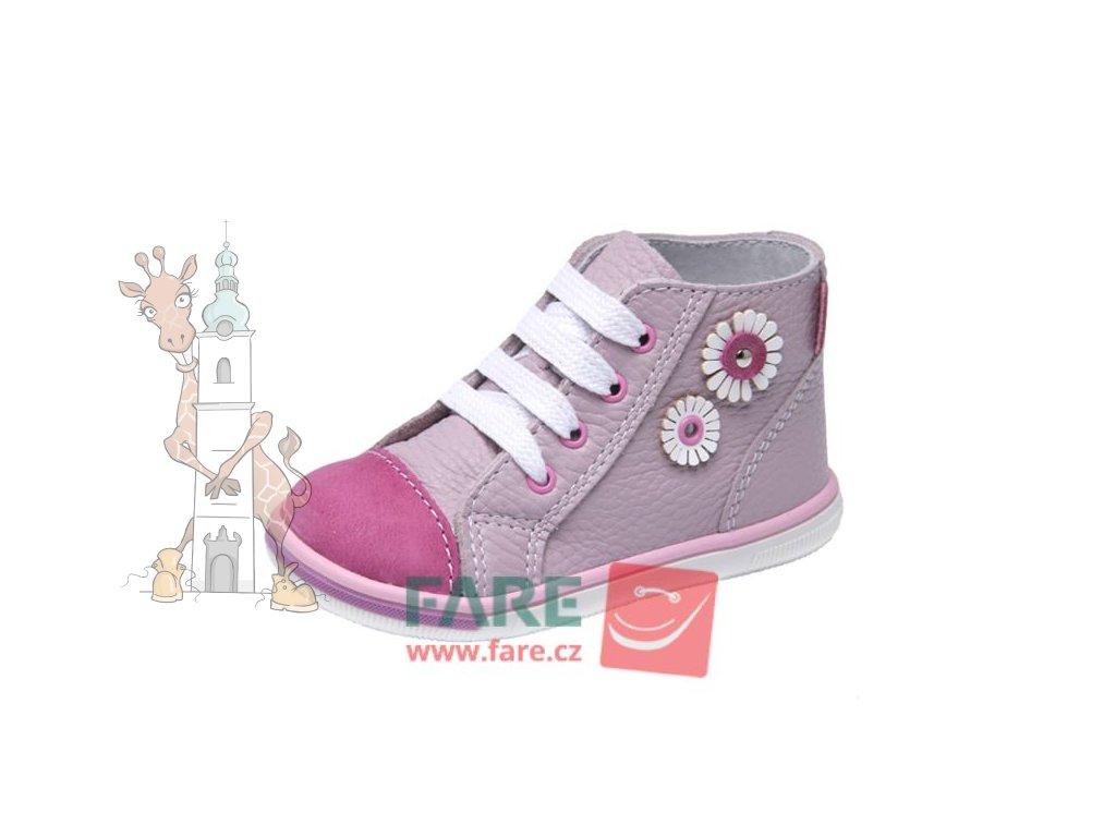 Dětské celoroční kožené kotníkové boty  2151157