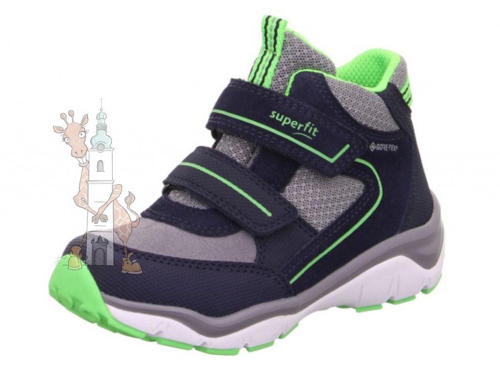 Dětské celoroční boty Superfit 1-000239-8000