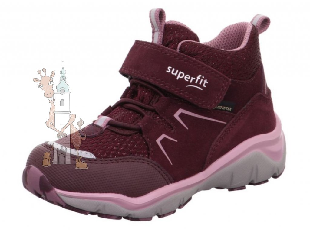 Dětské celoroční boty Superfit 1-000243-5000