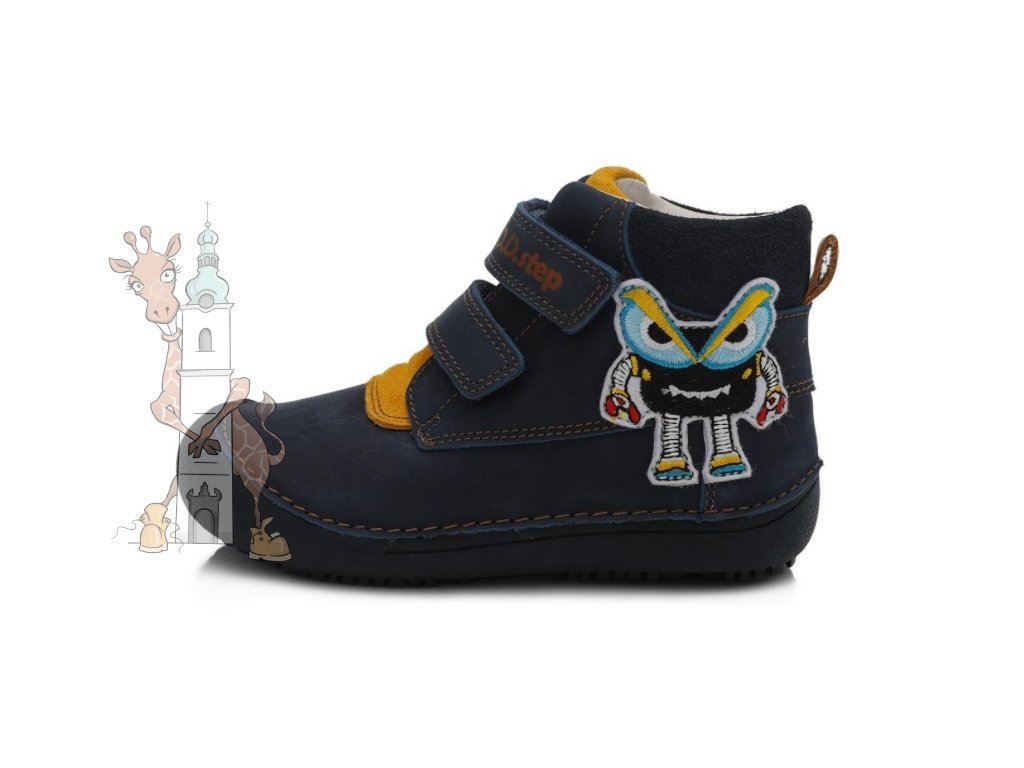 Dětské celoroční boty D.D.step 063-879