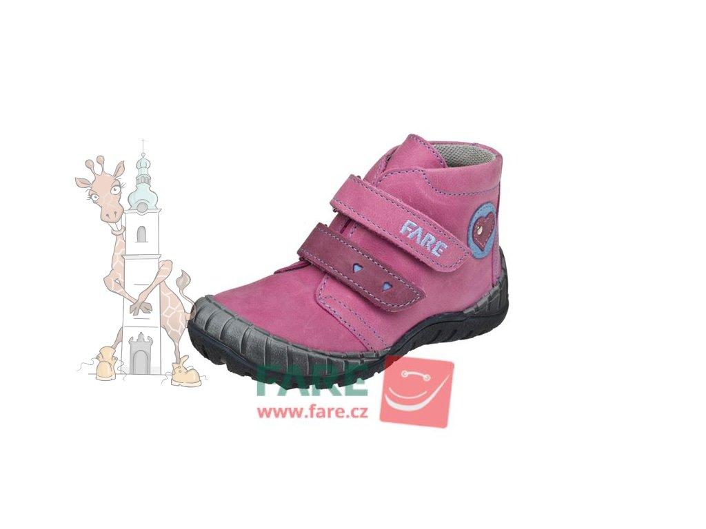 Dětské celoroční kožené boty Fare 820155