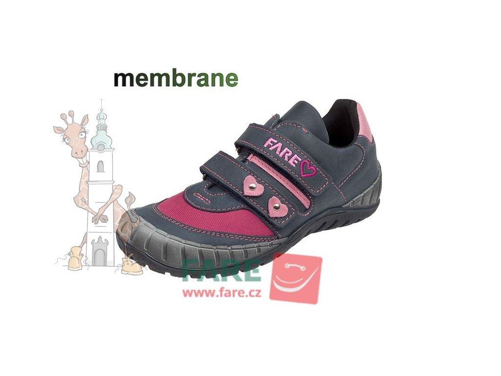 Dívčí celoroční nepromokavé boty 2615192
