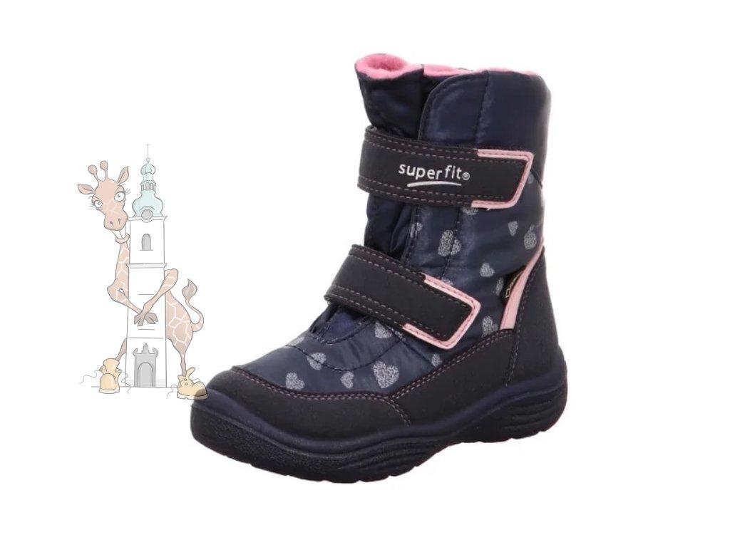 Dětské zimní boty Superfit 3-09091-80