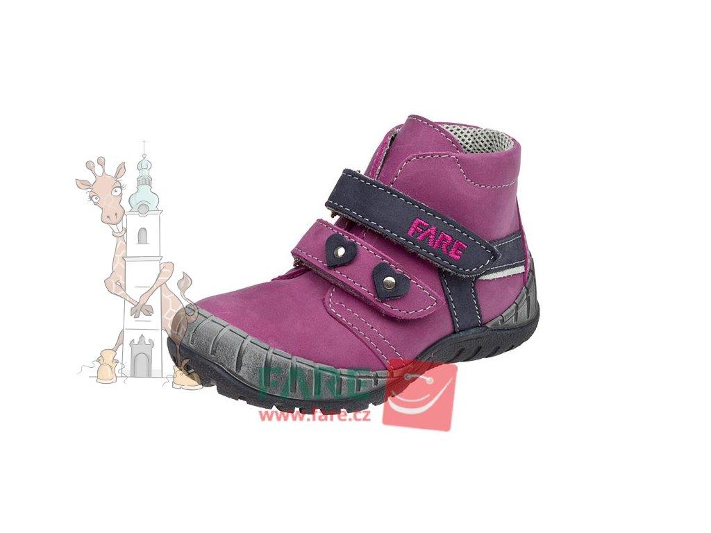 Dětské celoroční kožené boty Fare 820195