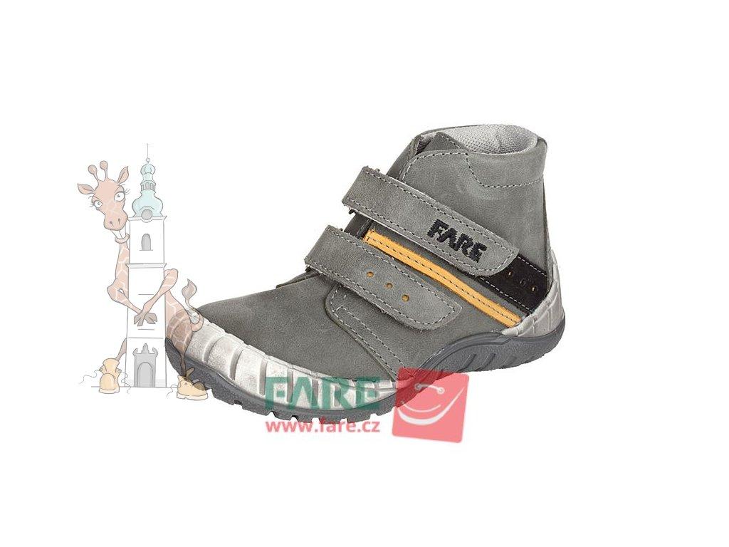 Dětské celoroční kožené boty Fare 820163