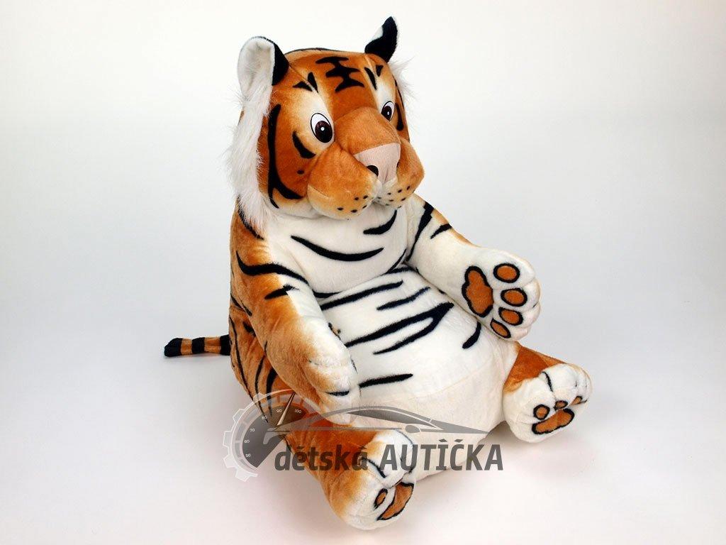 Plyšové křesílko pro dětičky tygr oranžový