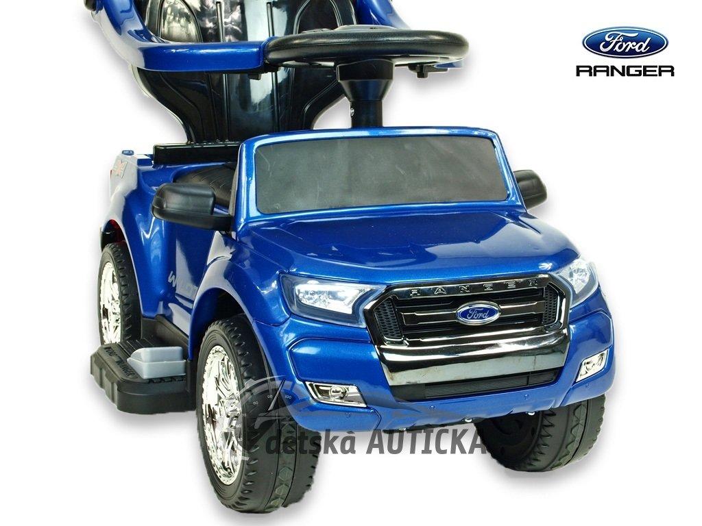Elektrický džíp Ford Ranger pro nejmenší, modrý