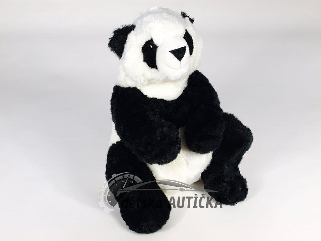 Rozkošná plyšová sedící PANDA, 56cm,