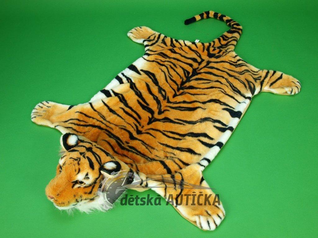 Předložka tygr ORANŽOVÝ, velikost L, 167cm x 96cm,