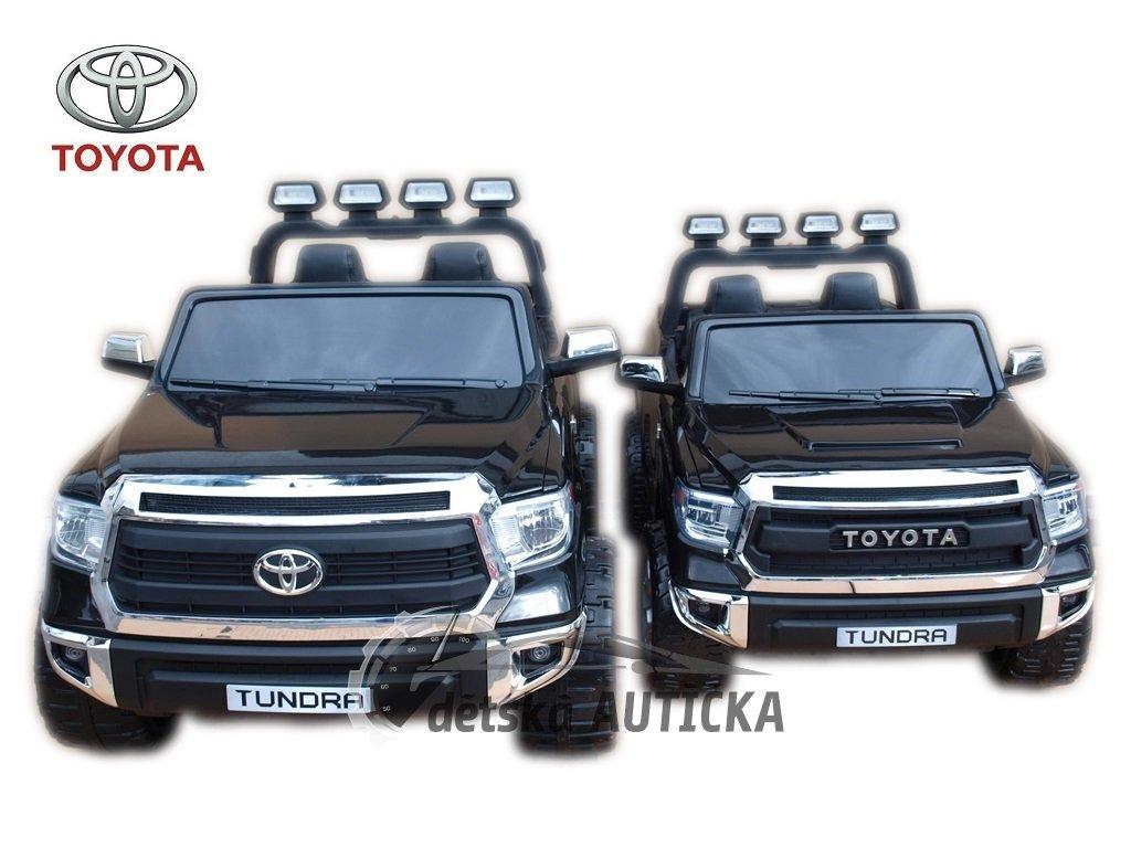 Foto pro porovnání velikostí Toyota Tundra 12V střední velikost za 7300,- Kč + Toyota Tundra 24V největší elektrické auto za 12