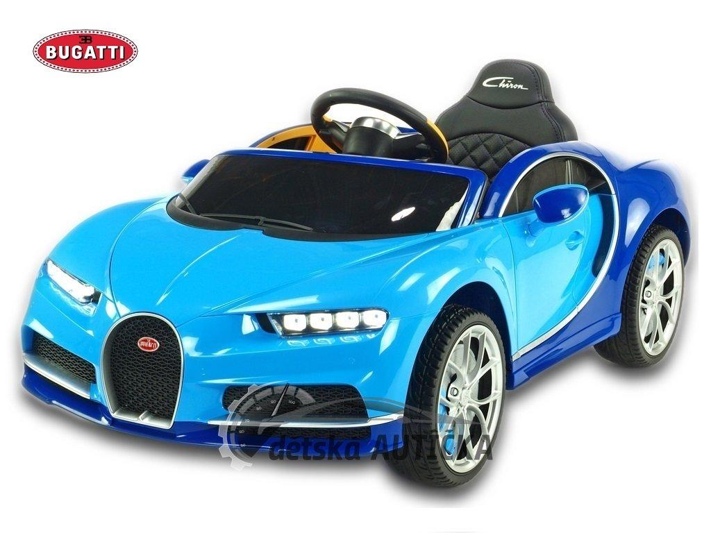 Bugatti Chiron modrý 1 kopie
