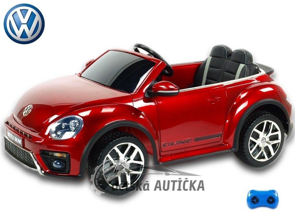 Volkswagen Beetle Dune cabrio červený lakovaný