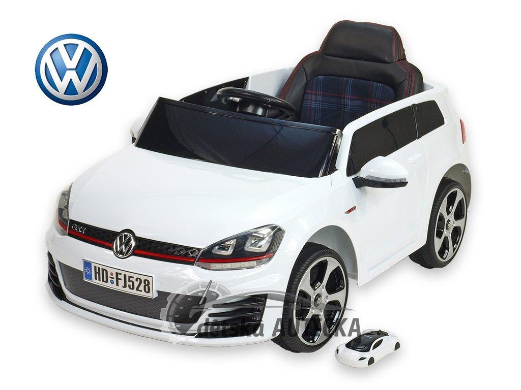Volkswagen Golf GTI NEW bílý lakovaný