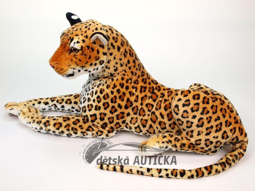 Velký plyšový leopard délky 170cm