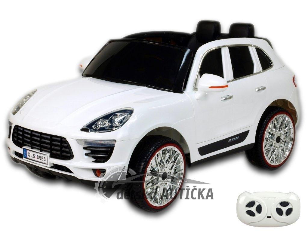 Elektrické SUV Kajene Sport NEW s 2.4G DO, pérováním, otvíracími dveřmi, kapotami, FM, USB, SD, Mp3, LED osvětlením, tažným mad