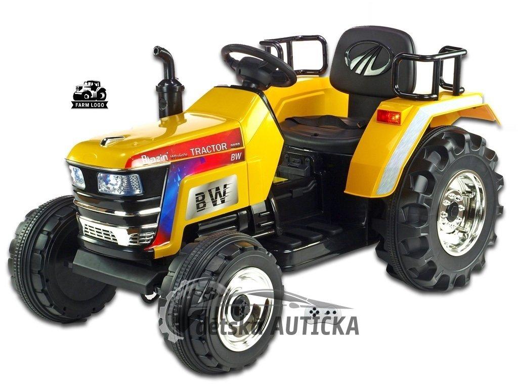 Traktor Big Farm žl 1 kopie