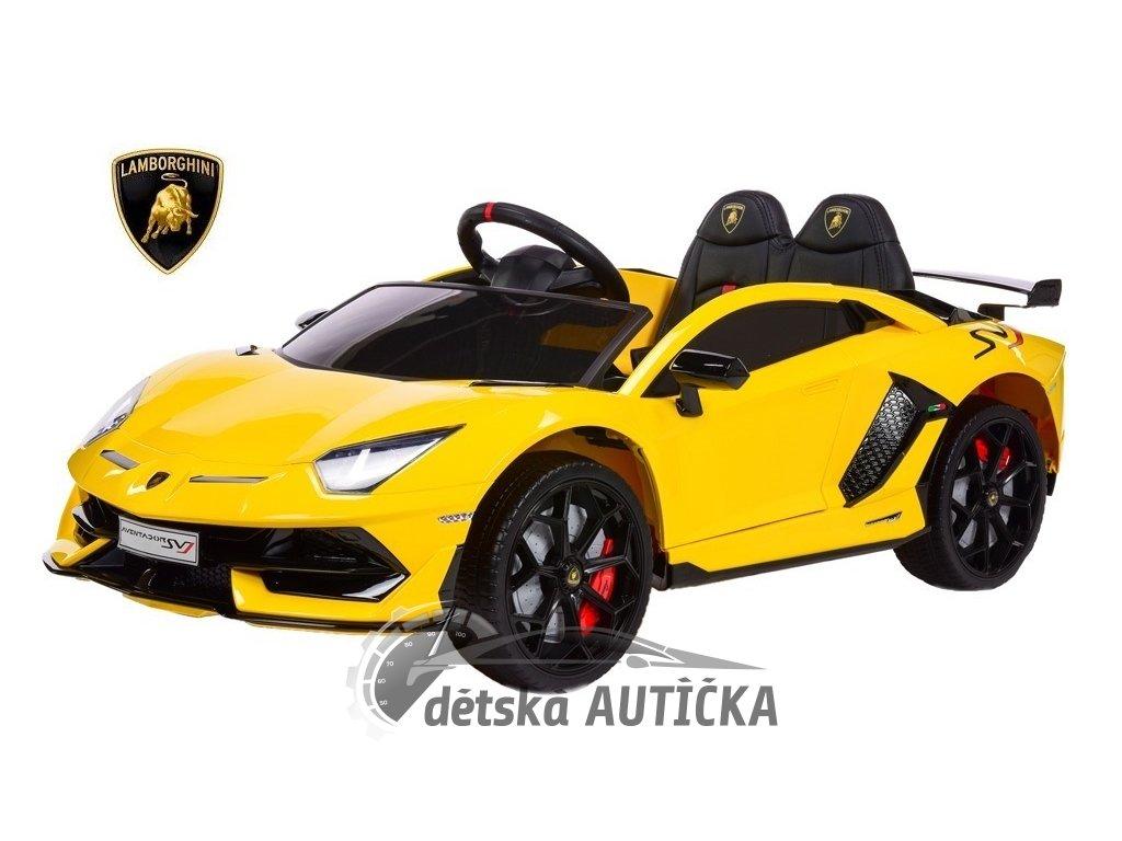 Lamborghini Aventador žlut 1 kopie