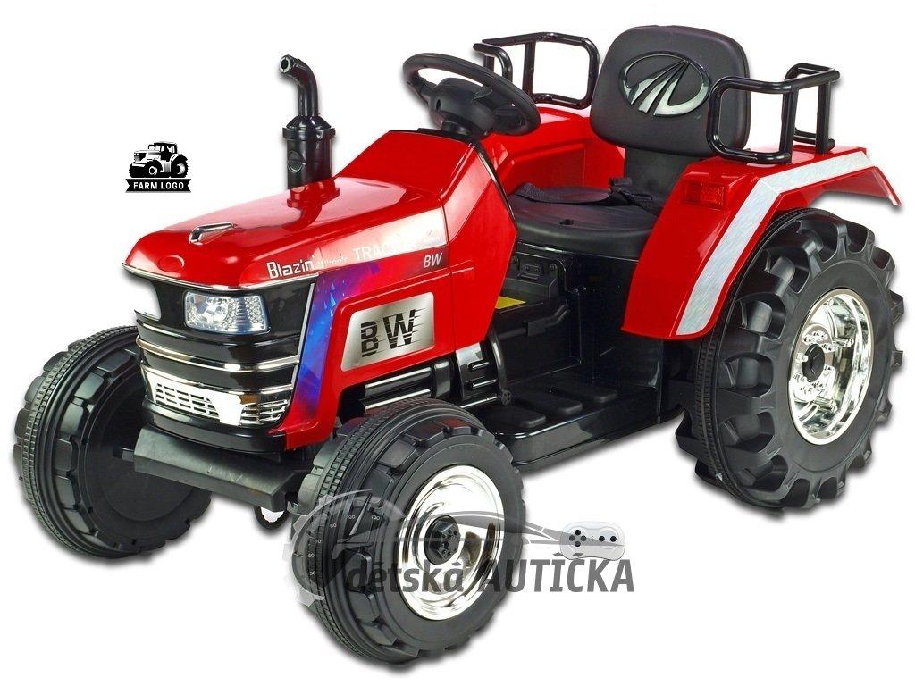 Traktor Big Farm červ 1 kopie