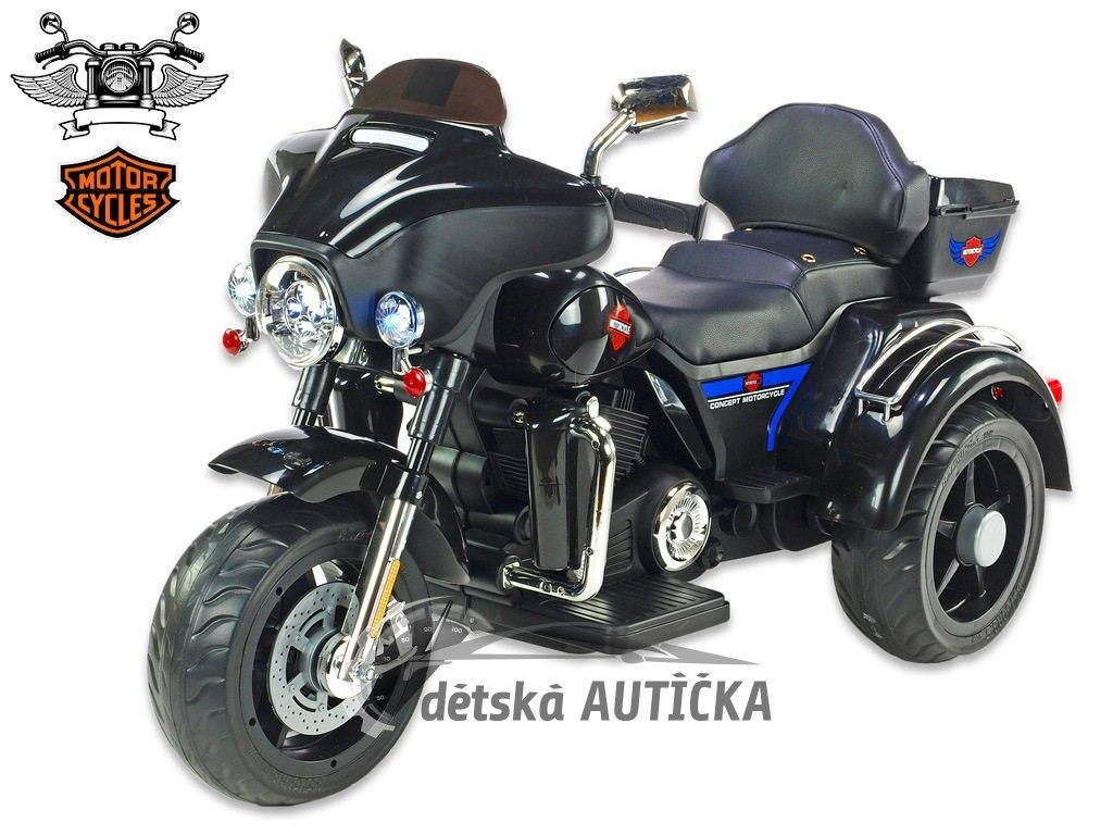 Chopper Big Motorc černý 1