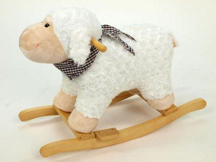 Houpací ovečka se šátečkem