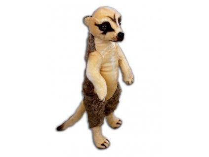 Plyšová Africká surikata, výška 66cm