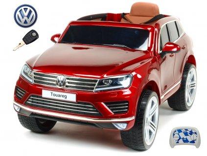 Pouze osobní odběr! Volkswagen Touareg s 2,4G, vínový lakovaný