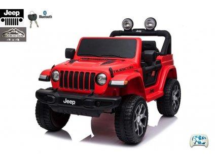 Jeep Wrangler Rubicon s 2.4G, náhonem 4x4, červený