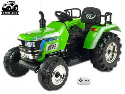 Big Farm s 2,4G, největší traktor, zelený