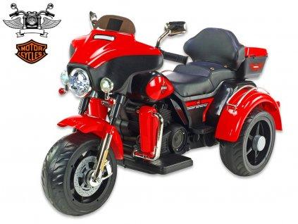 Chopper Big Motorc červený 1