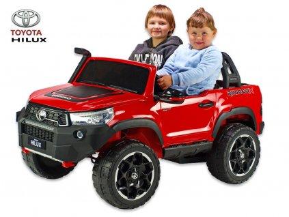 Toyota Hilux Rugged-X s 2.4G, 4x4, dvoumístná, výběr 4 barev
