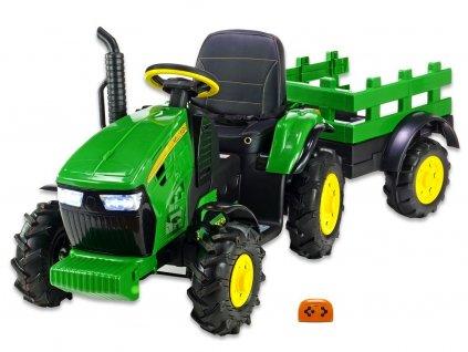 Traktor Hello s vlekem zel 1
