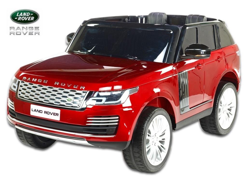 Elektrické SUV Range Rover HSE, vínová metalíza