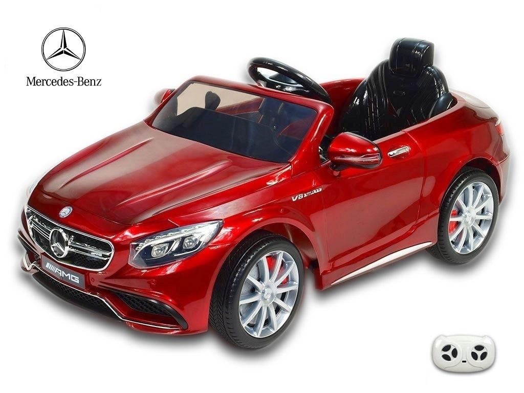 Mercedes - Benz S63 AMG s 2,4G, vínová metalíza