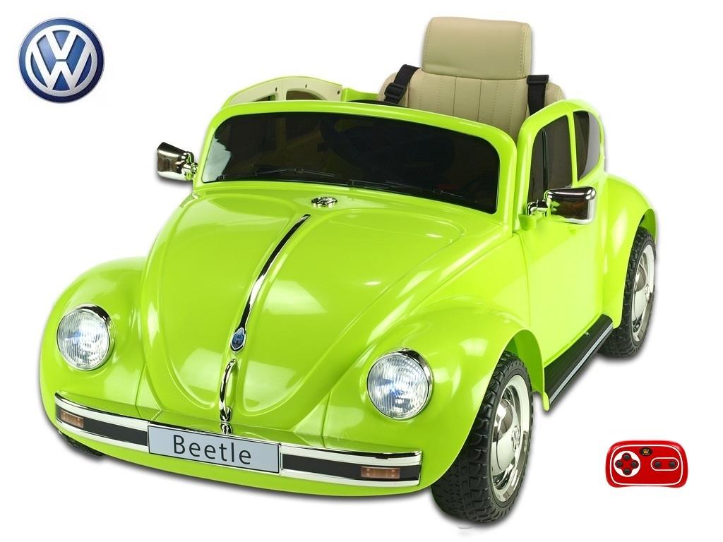 Volkswagen Beetle oldtimer zelený