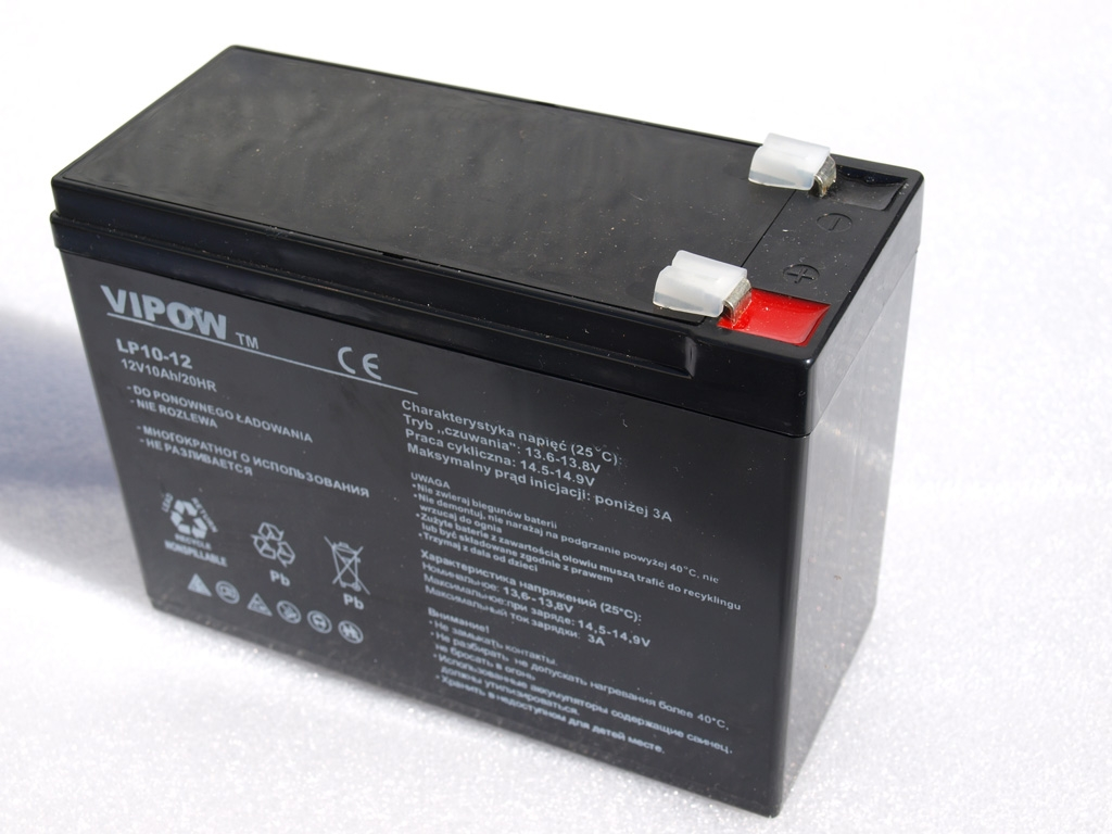 Gelová nabíjecí baterie 12V - 10Ah/ 20HR,