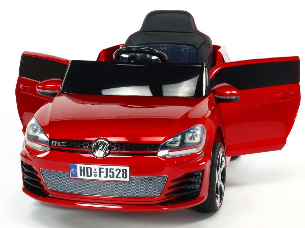 Volkswagen Golf GTI NEW červený lakovaný