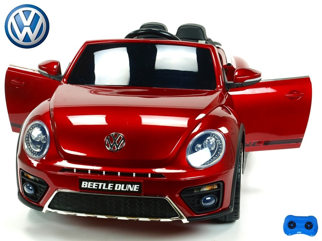 Volkswagen Beetle Dune cabrio s 2,4G, vínová metalíza