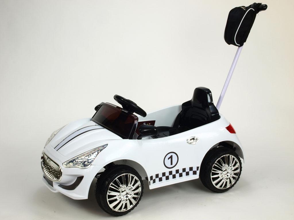 Elektrické autíčko GTR s DO, bílé